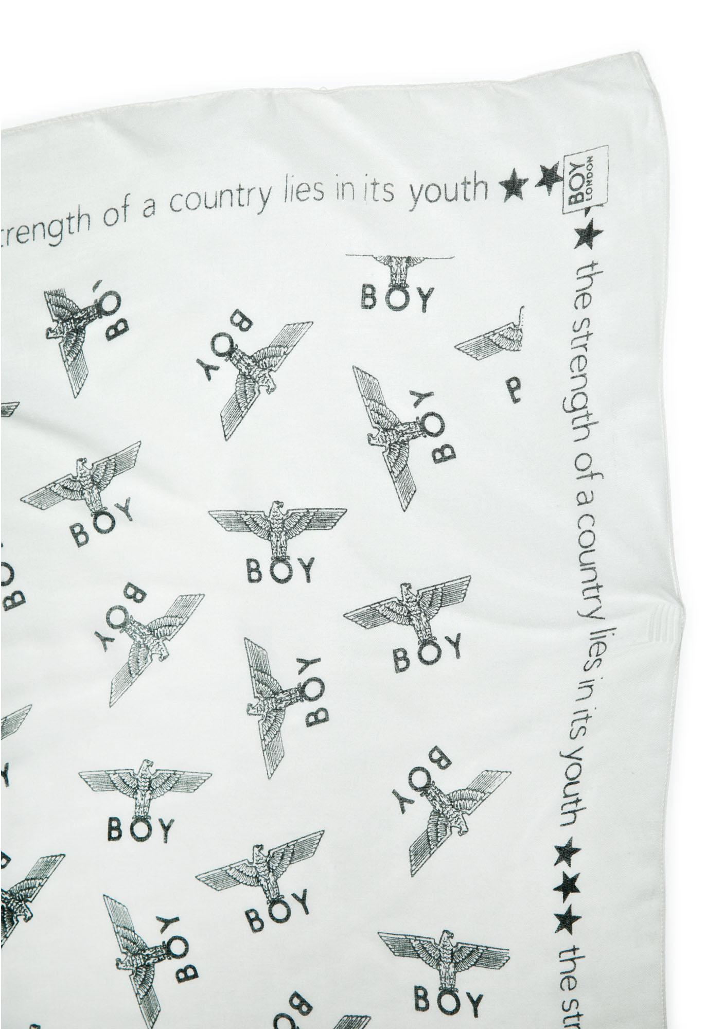 BOY London Allover Eagle BOY Scarf