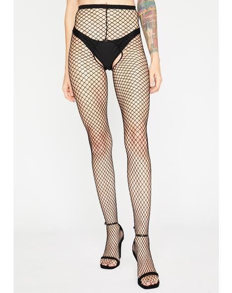 Freaky Thing Fishnet Tights