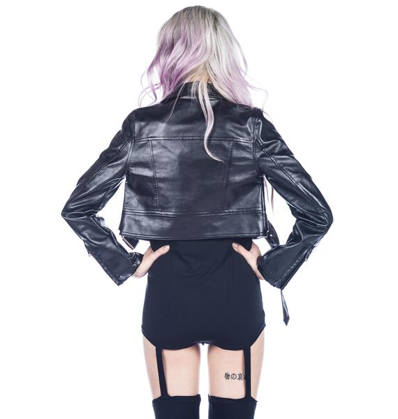 HLZBLZ x Belle of the Brawl Straight to Hellz Jacket
