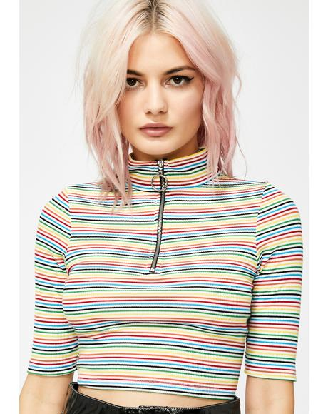 Main Attraction Striped Top