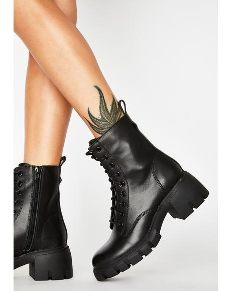 Hybrid Ankle Boots