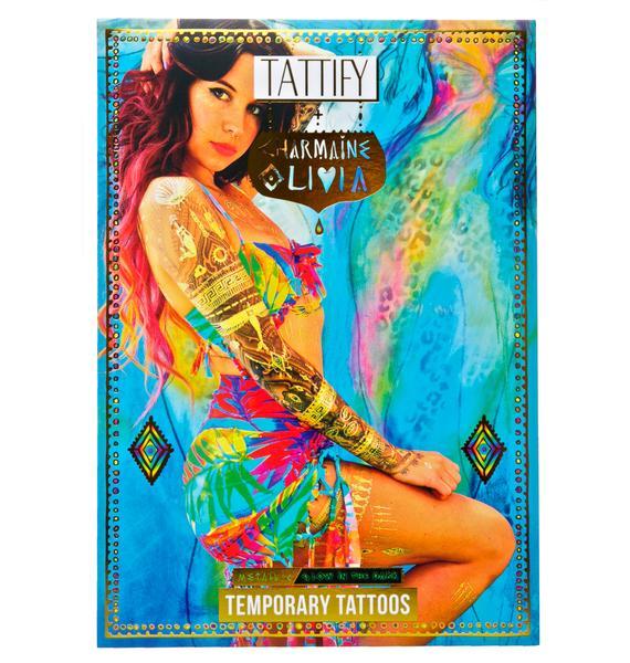 Be Bright Metallic Temporary Tattoos