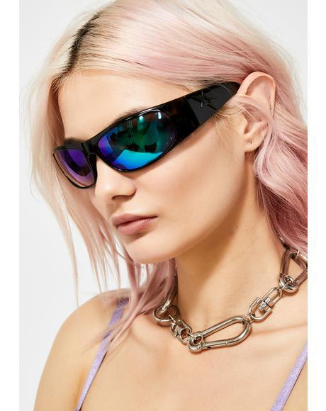 Stoned Speed Star Wrap Sunglasses
