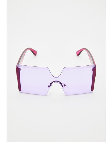 Far Out Freaq Square Sunglasses