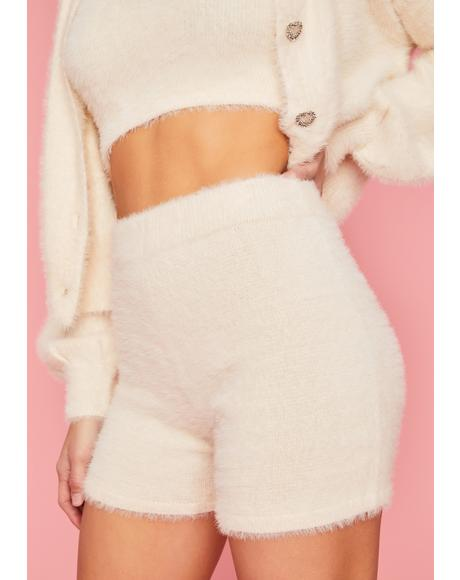 Bliss Prove It Baby Fuzzy Lounge Shorts