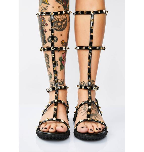 Victorious Vixen Gladiator Sandals