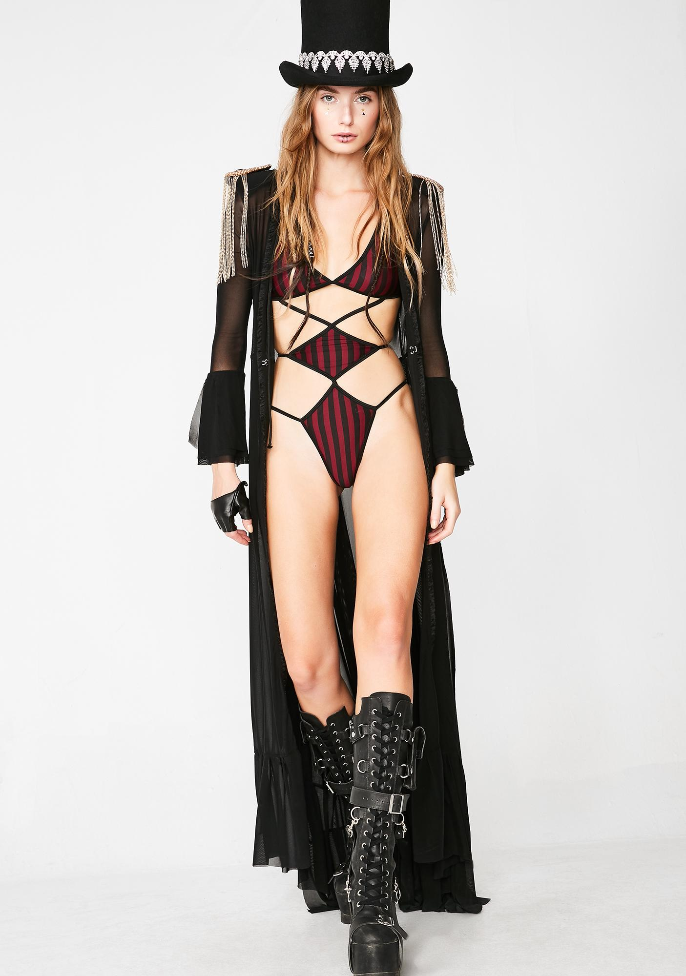 Club Exx Desert Alchemist Hooded Duster