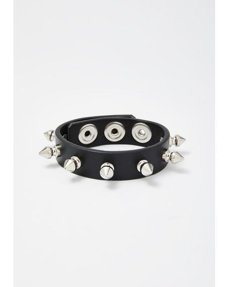 Lost Tribe Spiked Bracelet