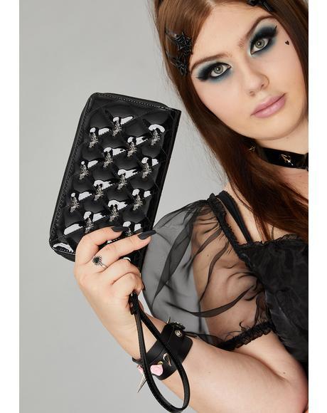 Studded Bats Wallet