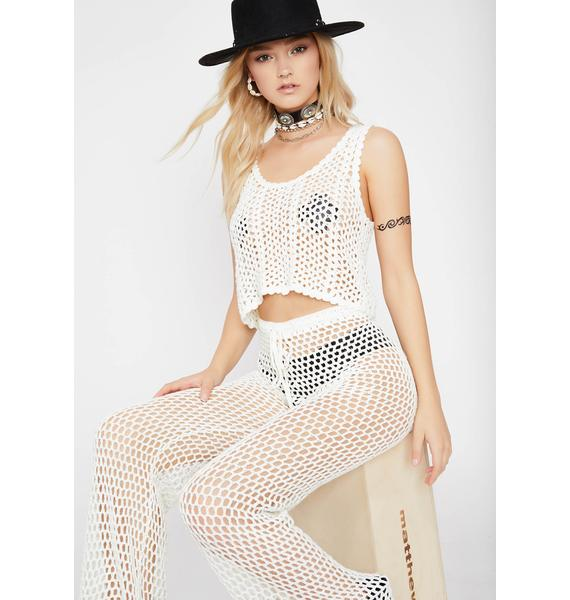 Chill Boho Honey Crochet Set