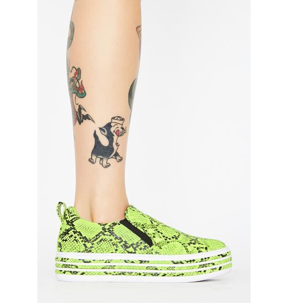 Nuclear Mamba Platform Sneakers