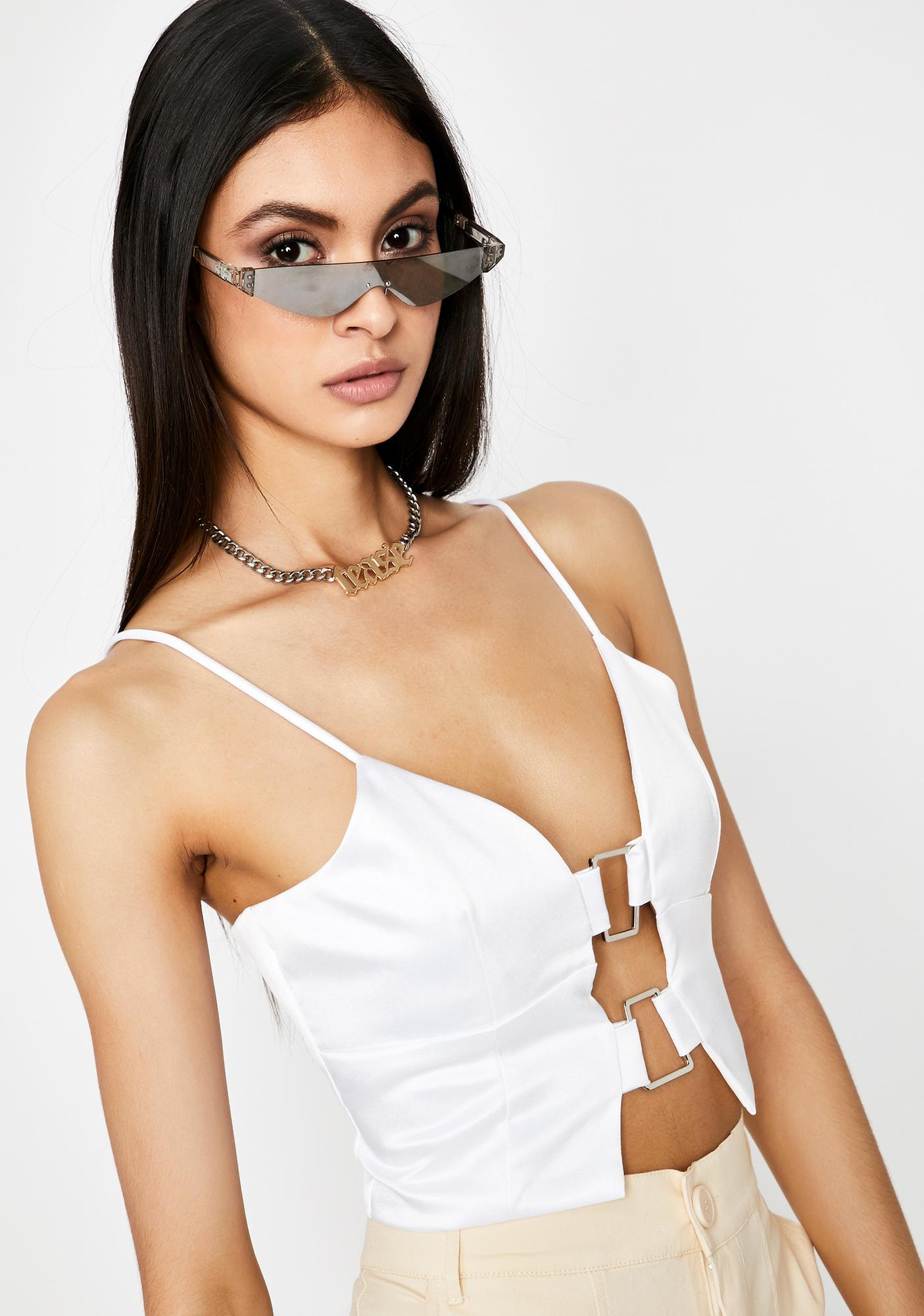Icy Lose My Love Cut Out Top