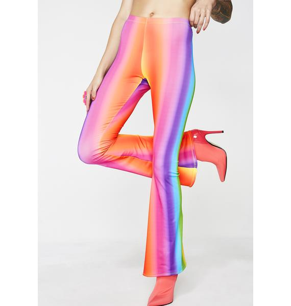 Rheabfunky Rainbow Gradient Flares