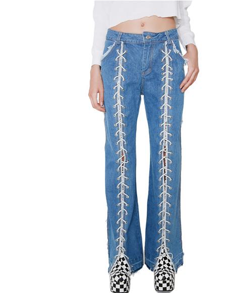 Get Laced Jeans