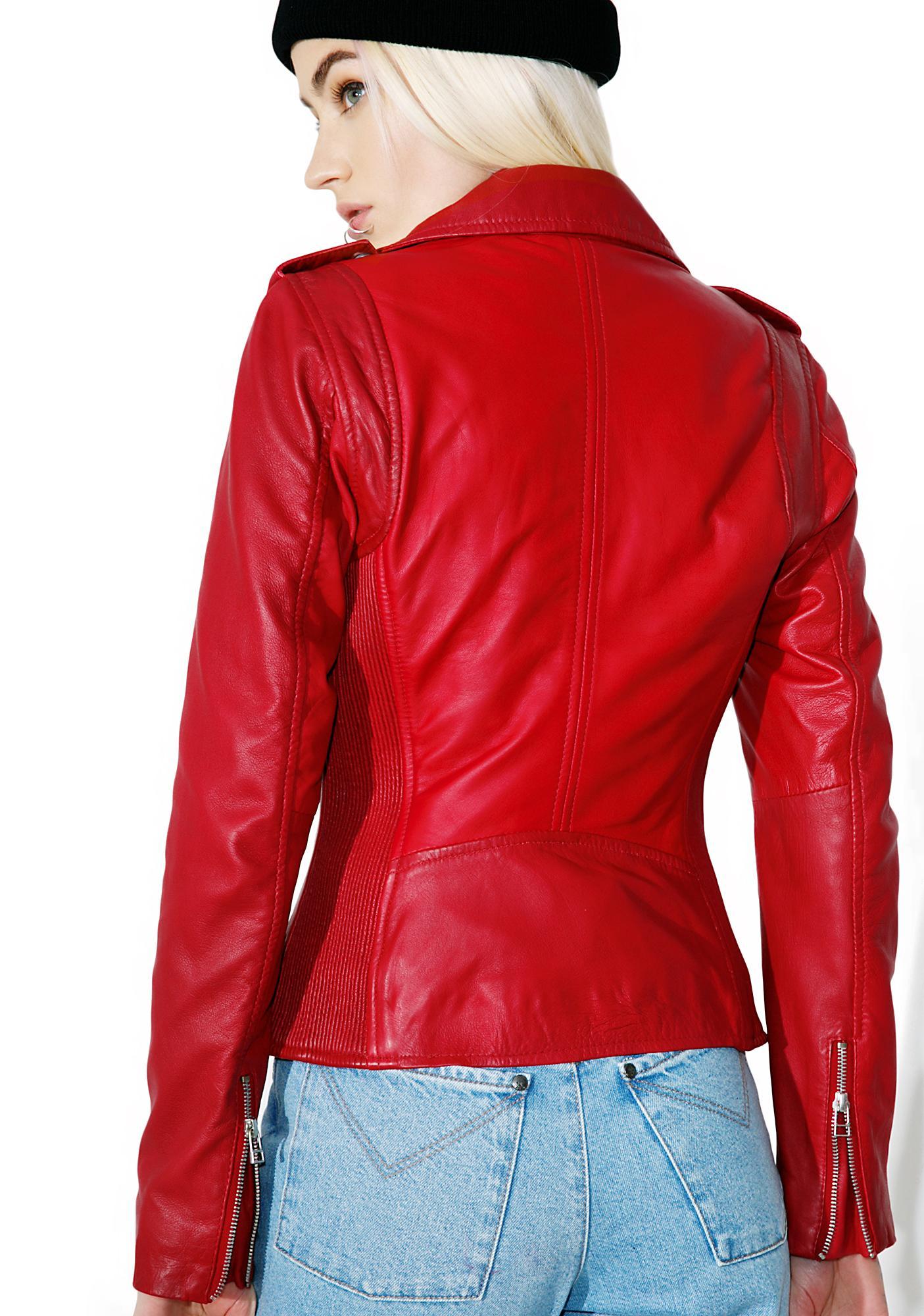 Goosecraft Thriller Biker Jacket
