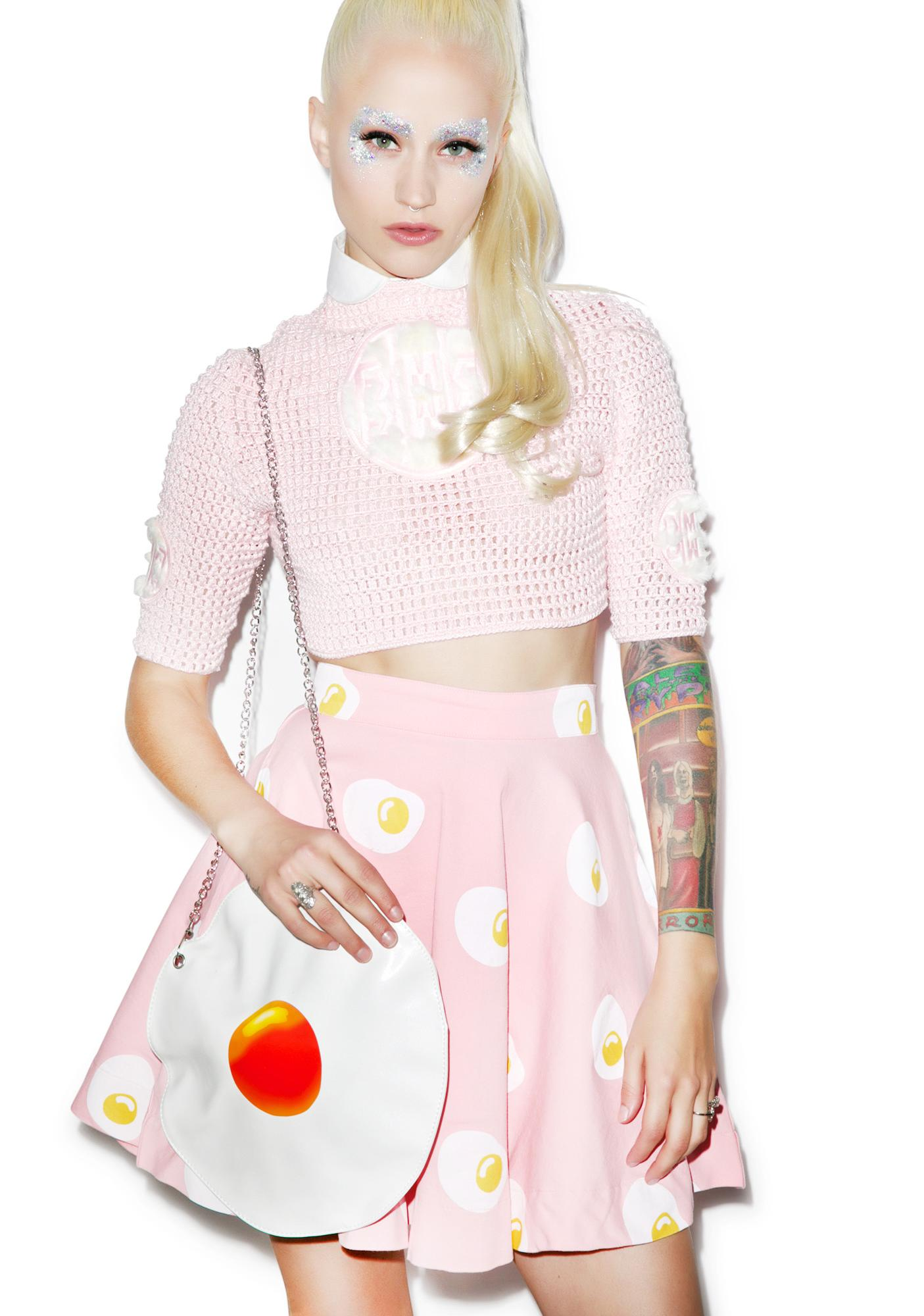 Lazy Oaf Egg Stended Circle Skirt