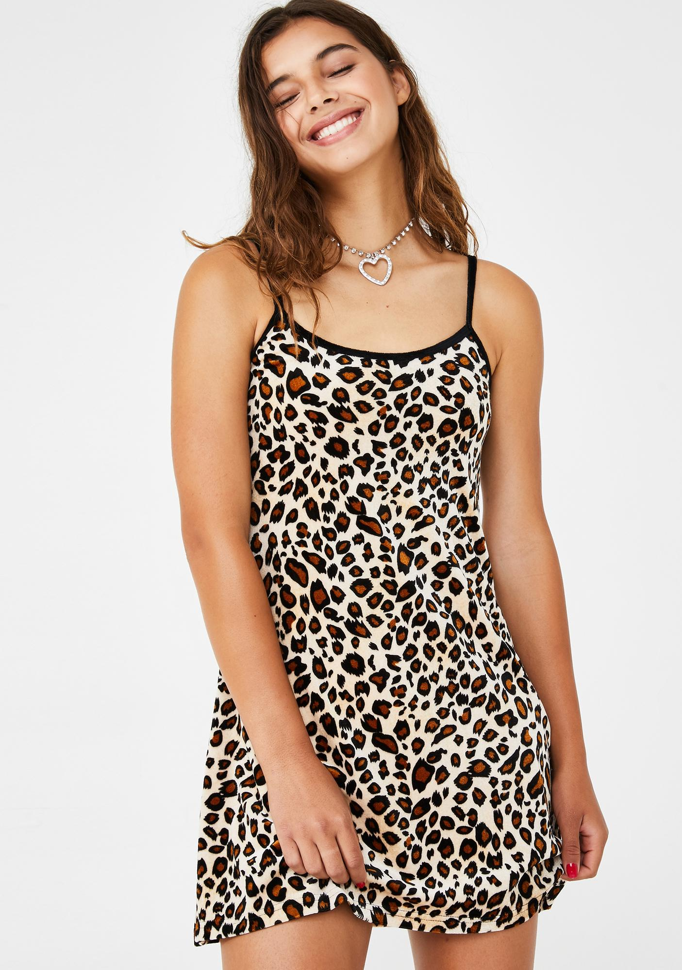 dELiA*s by Dolls Kill Cat Got Ya Tongue Mini Dress