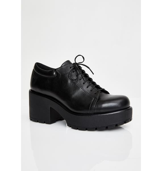 VAGABOND SHOEMAKERS Dioon Leather Ankle Oxfords