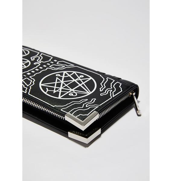 Killstar Necronomicon Wallet