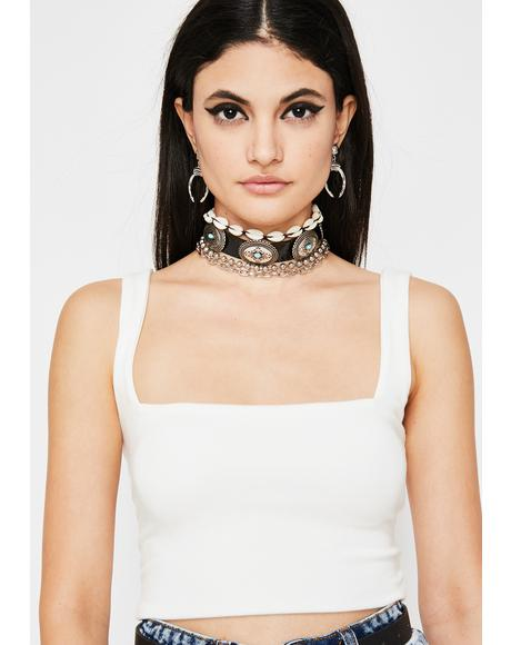 Icy Fierce Flex Crop Top