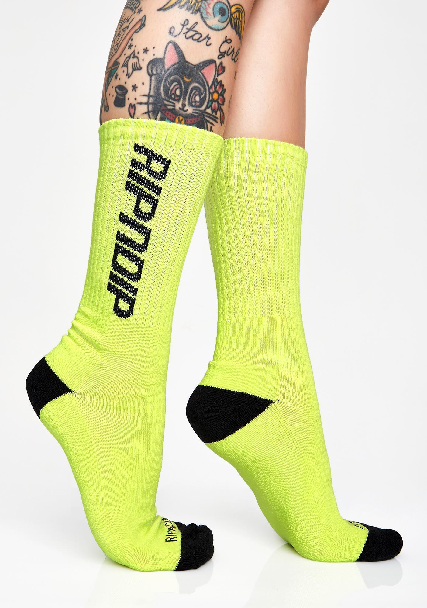 RIPNDIP Field Socks