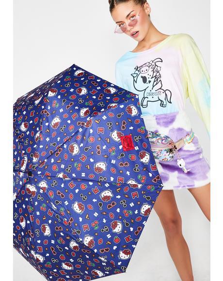 Hello Kitty Tokidoki Folding Umbrella