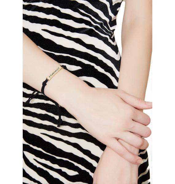 Feminist Bracelet