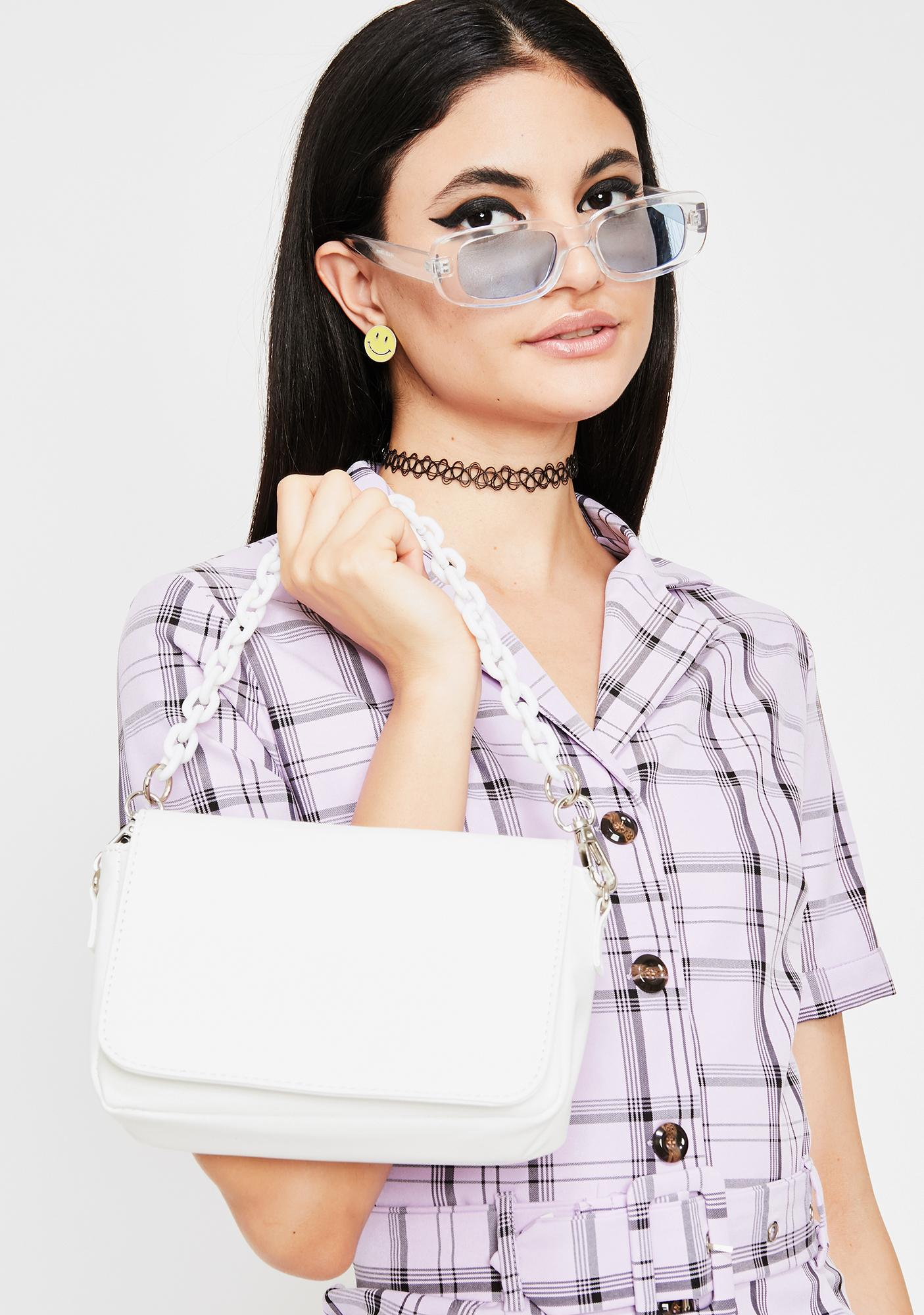 Icy Link Me Chain Crossbody