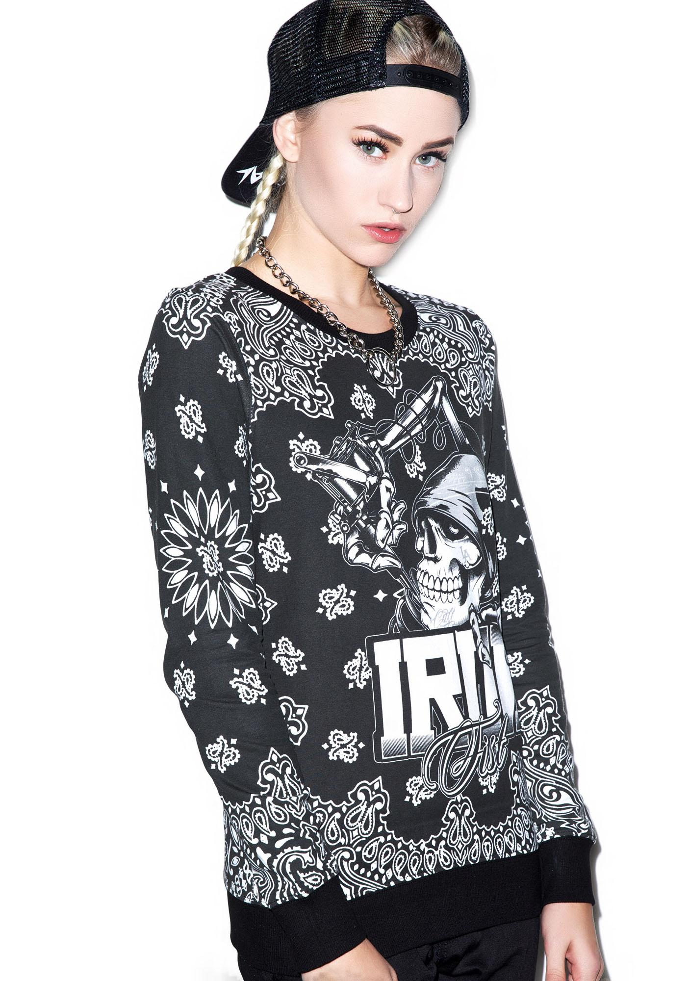 Iron Fist Ink Crew Pullover