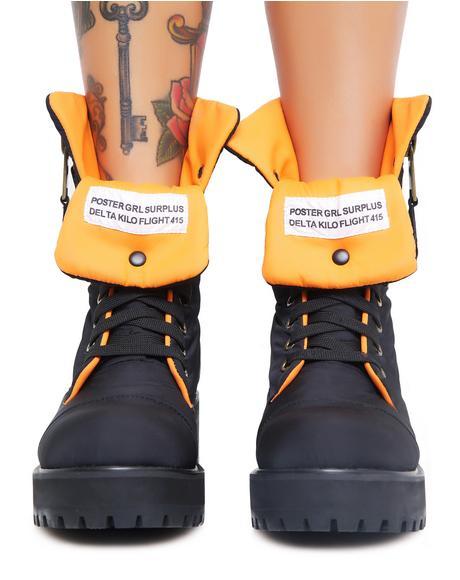 Combat Flight Boots