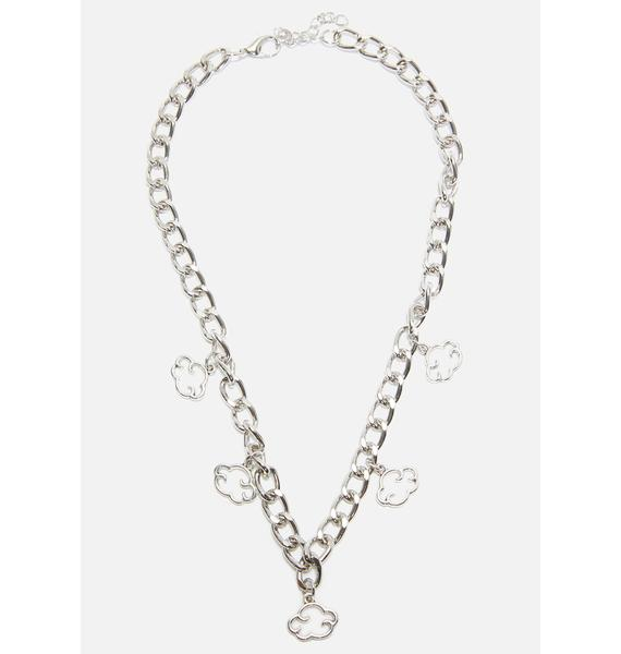 Head In The Cloudz Chain Necklace