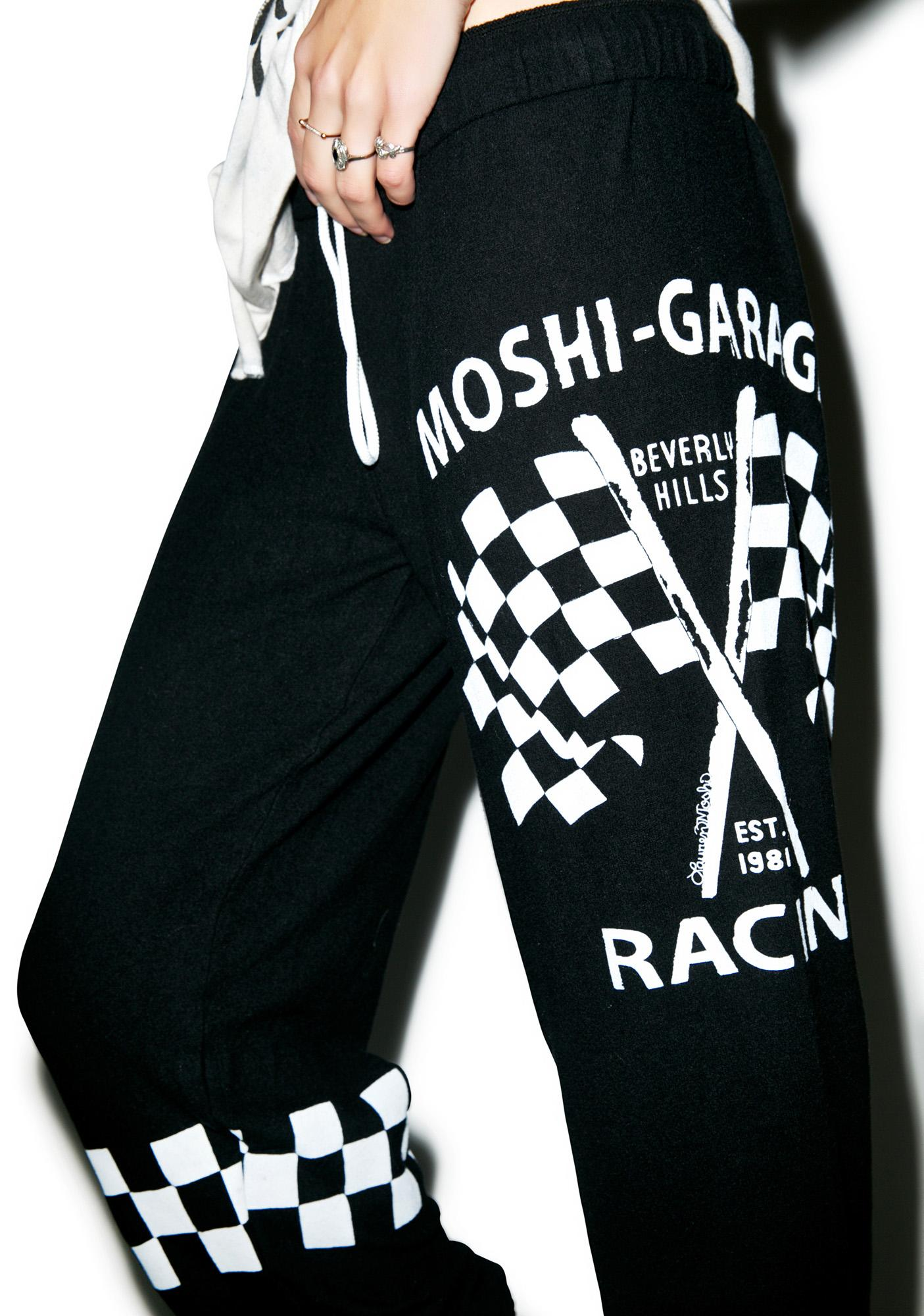 Lauren Moshi Tanzy Moshi Racing Sweatpants