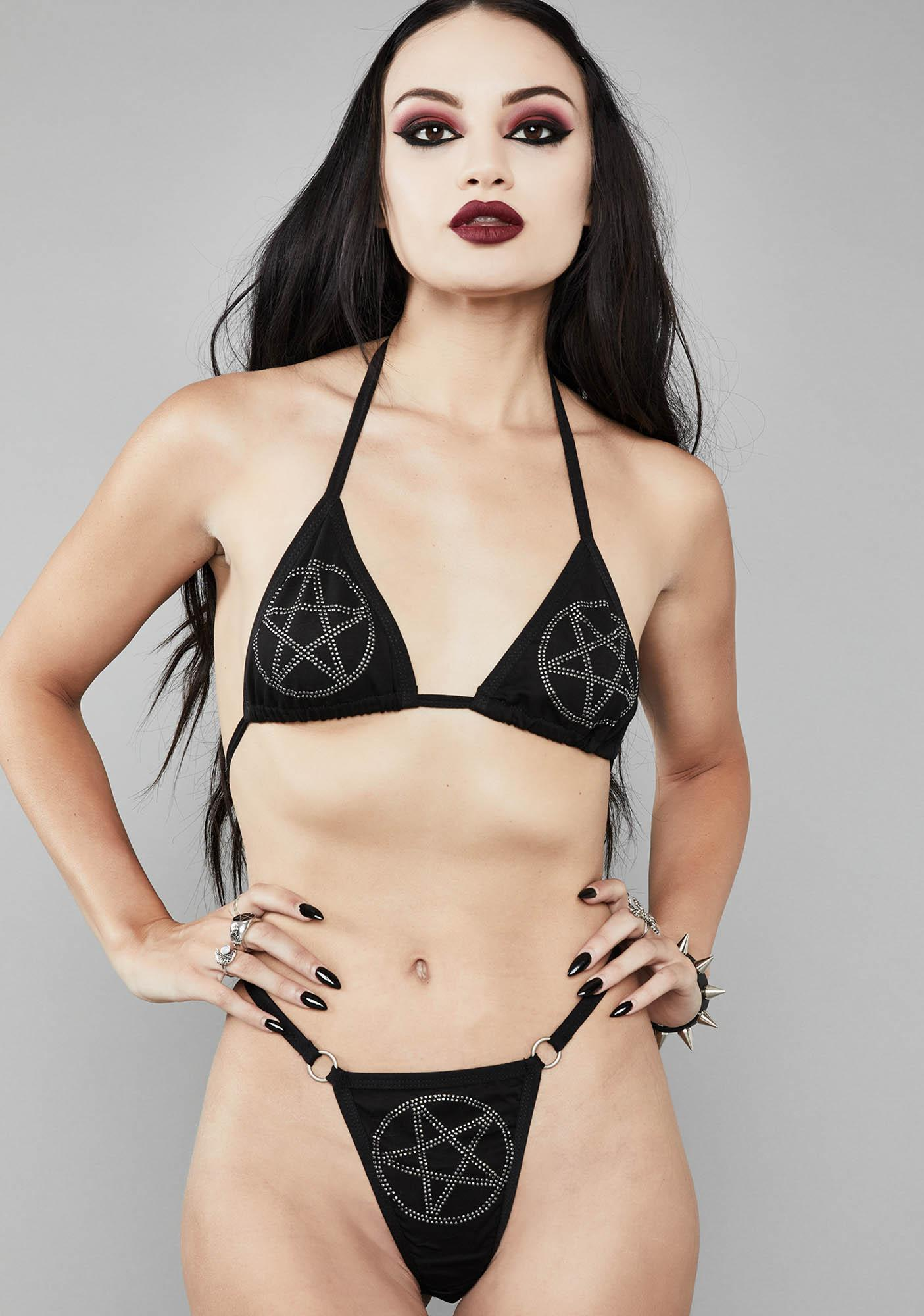 Widow Evil Tendencies Pentagram Set