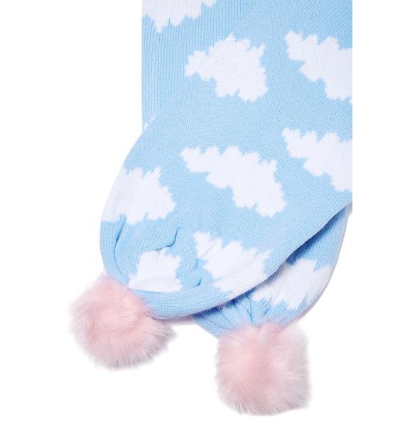 Lazy Oaf Cloud Scarf
