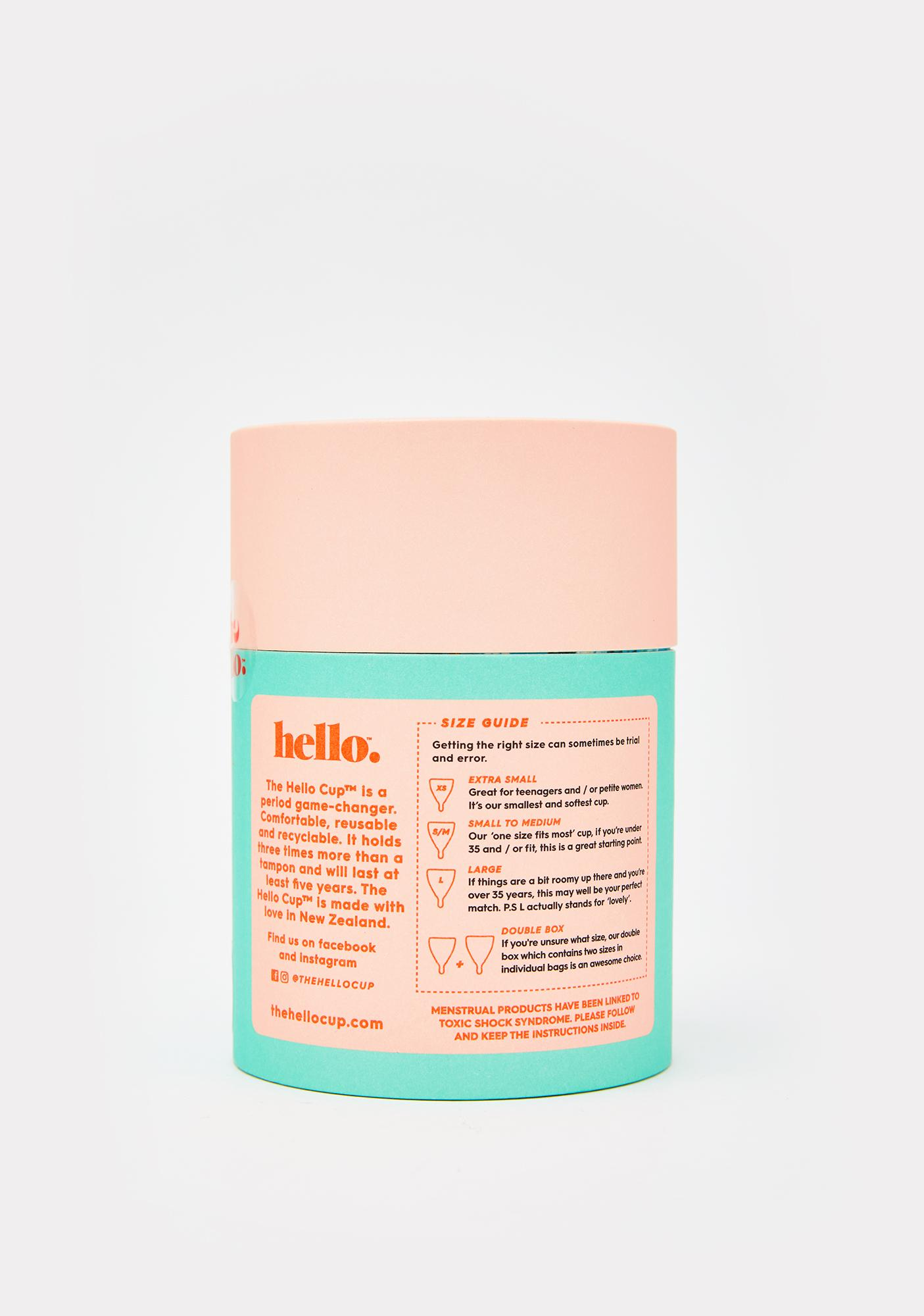 The Hello Cup Blue Hello Cup