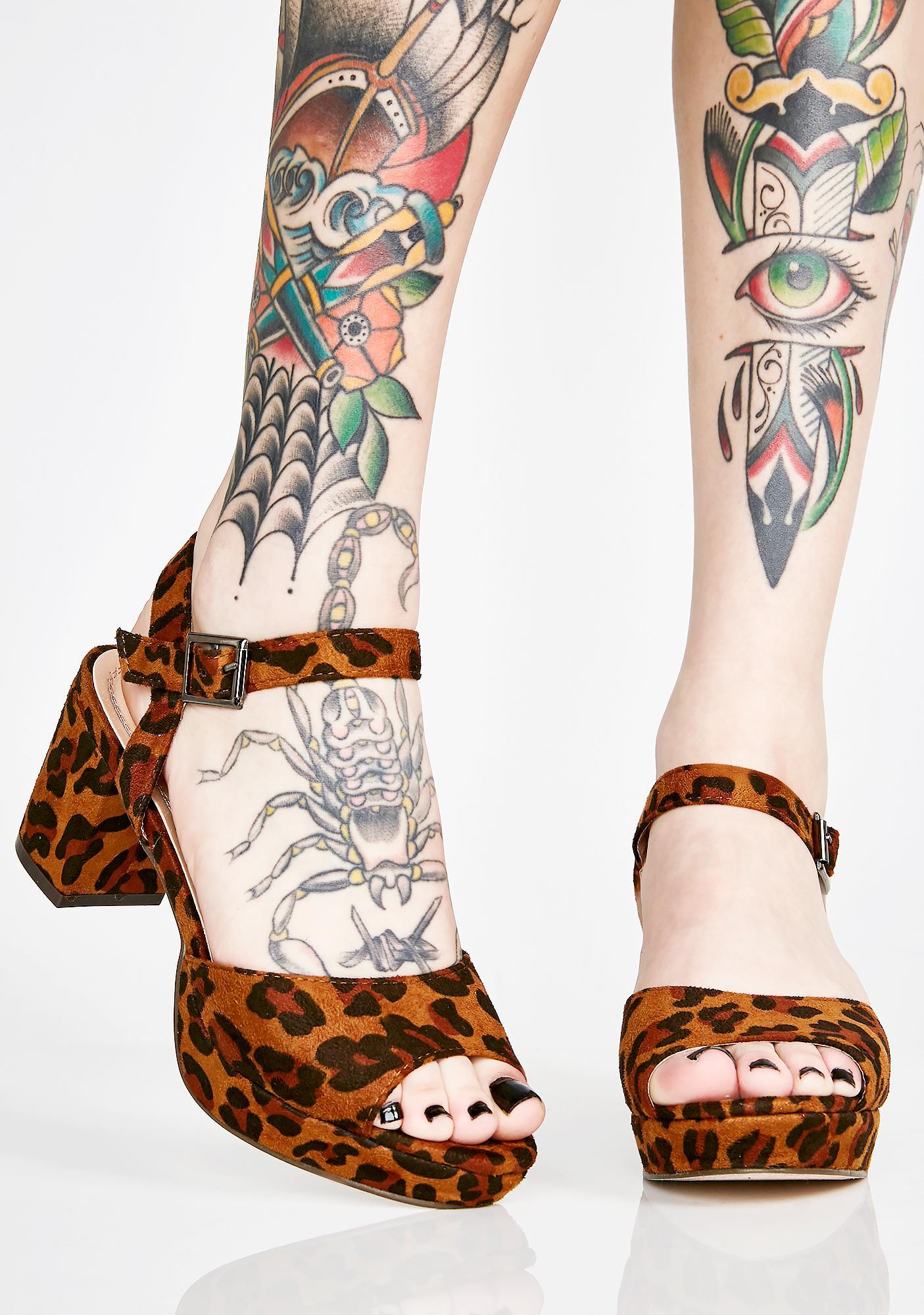 Exotic Drama Lover Platform Heels