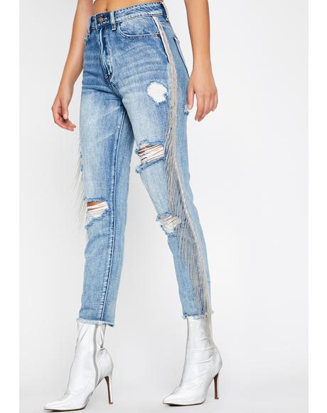 Happy Trails Boyfriend Jeans