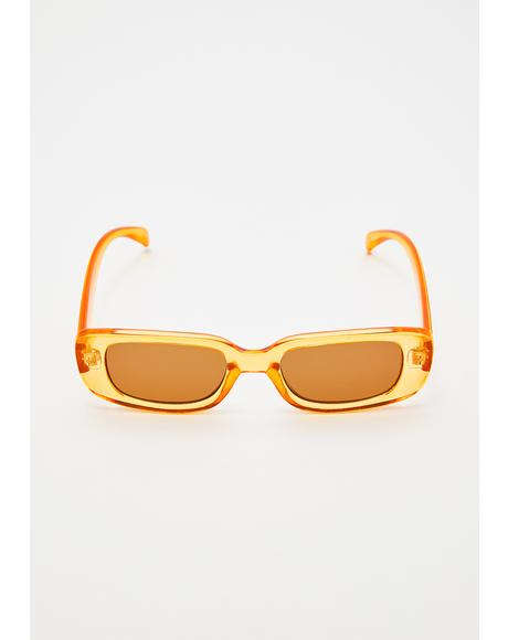 Cognac Whatever 4ever Sunglasses