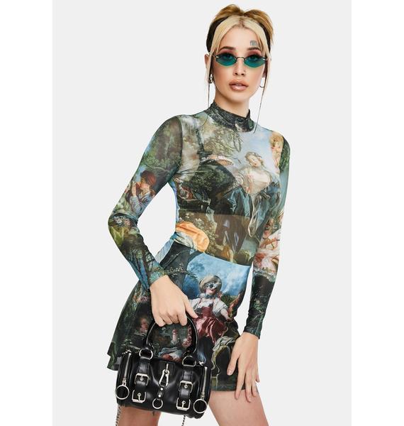 Current Mood Da Vinci's Demons Mesh Dress