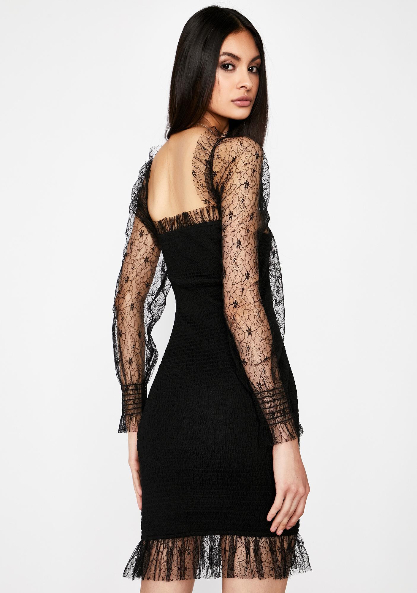 Hashtag Dead Lace Dress