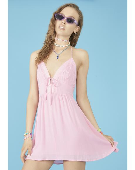 Beach Bum Halter Dress