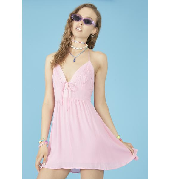 dELiA*s by Dolls Kill Beach Bum Halter Dress