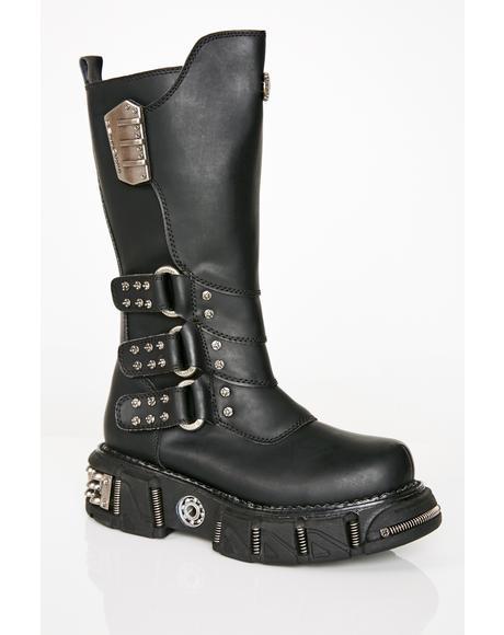 Desert Raider Unisexx Buckle Boots