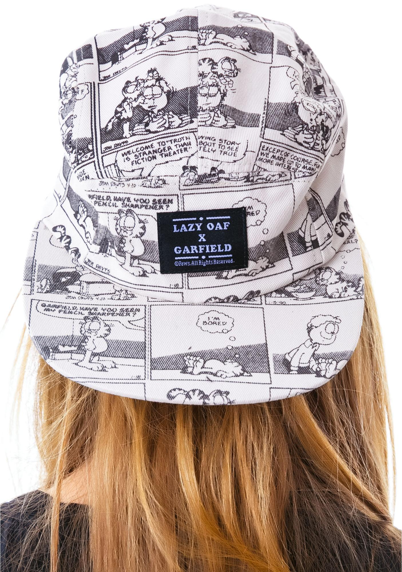 Lazy Oaf x Garfield News Cap