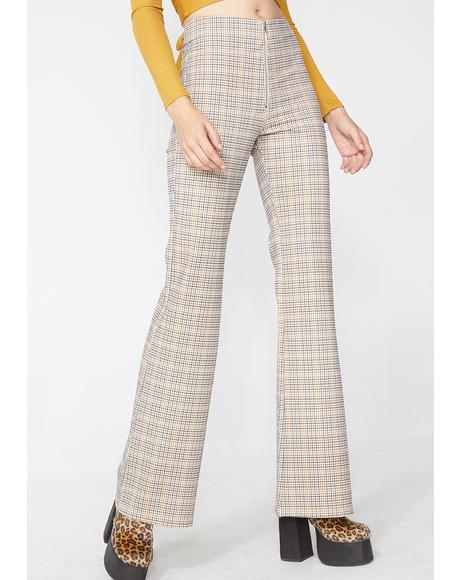 Music Club Plaid Pants