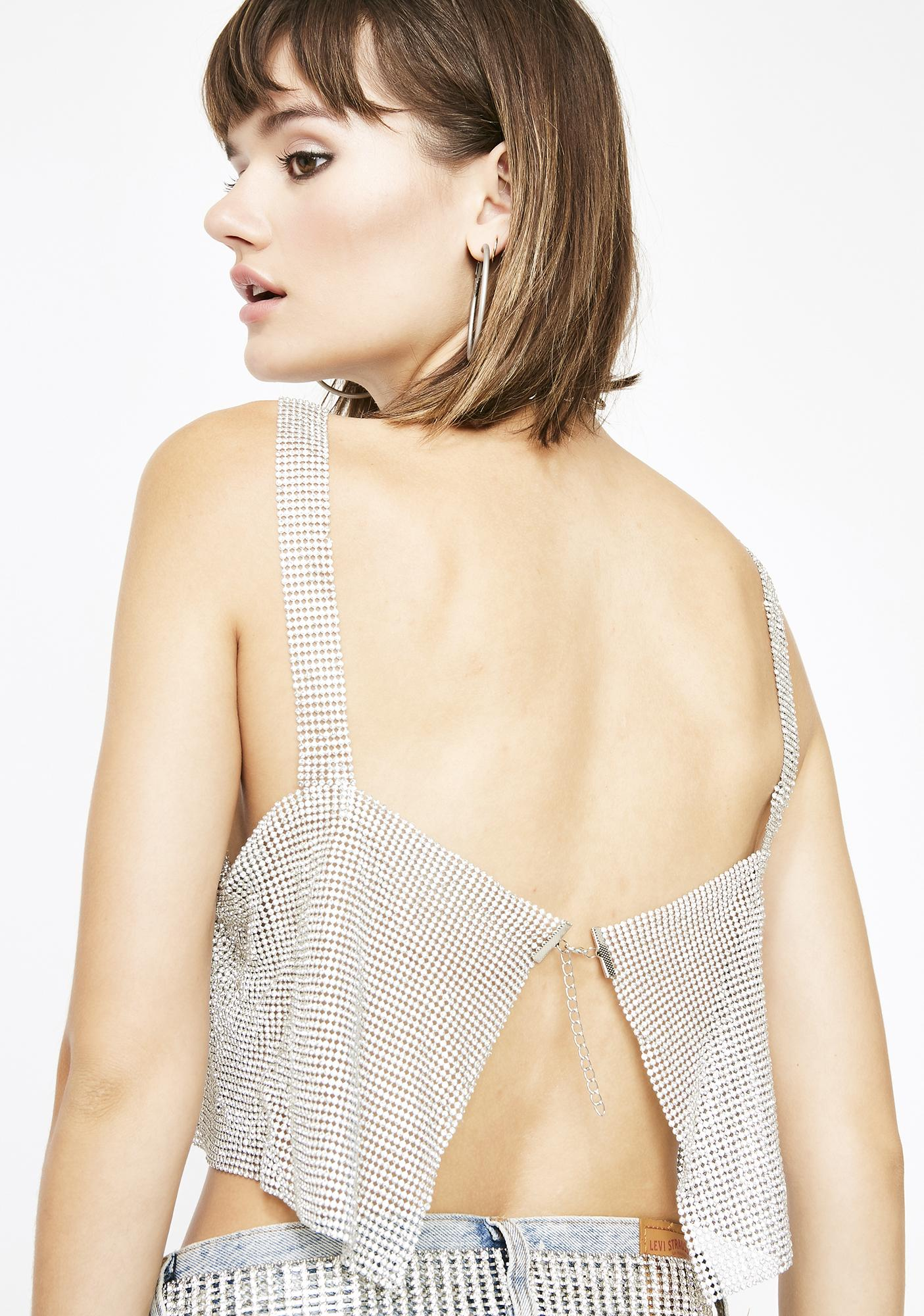 Icy Queen Chainmail Top