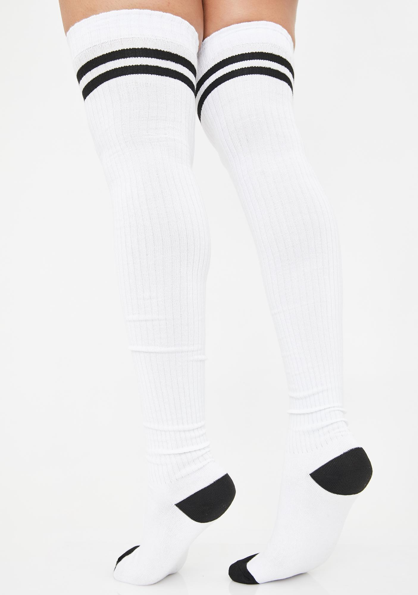 Locker Room Goss Thigh High Socks