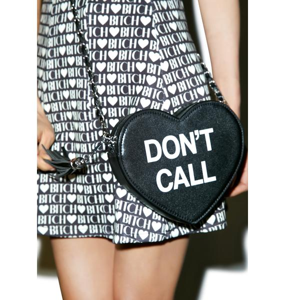 Sugar Thrillz Don't Call Crossbody Bag