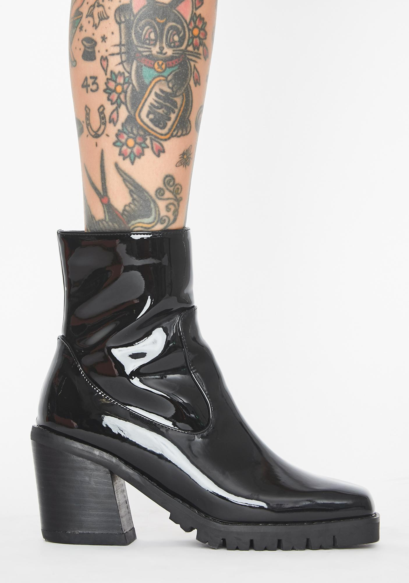 Just Went Viral Ankle Boots