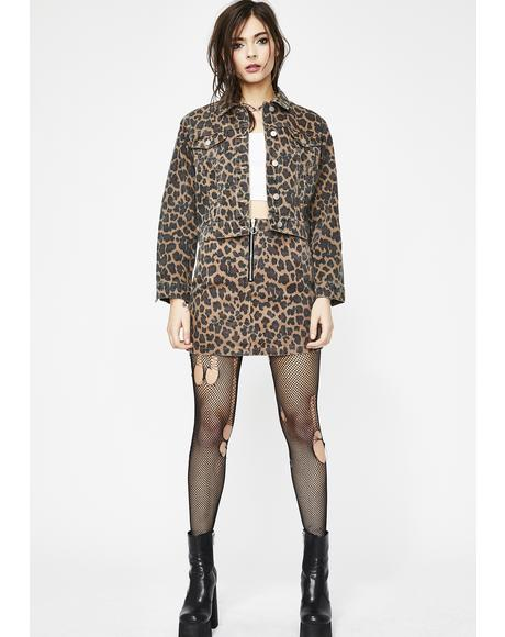 Prints Charming Leopard Jacket